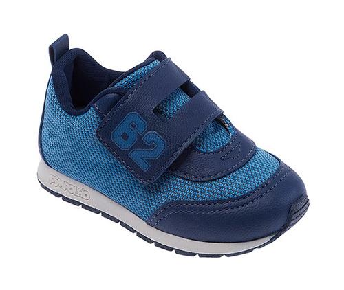 tenis masculino pimpolho - azul 16 a 19 - 27150c