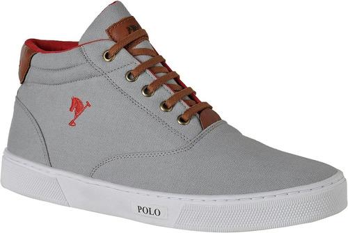 tenis masculino sapatenis polo bra sapatenis cano alto bota