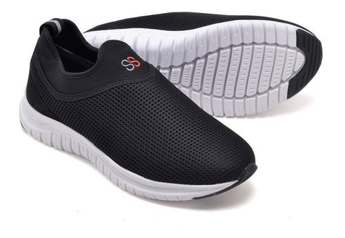 tenis masculino snapshoes corrida caminhada academia