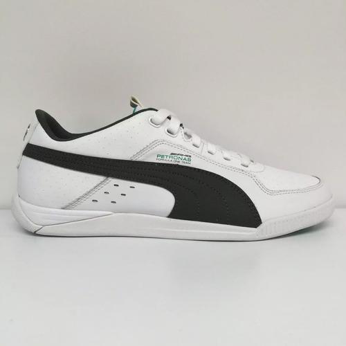 Tenis mercedes benz amg mamgp silver leather 02 puma for Puma mercedes benz