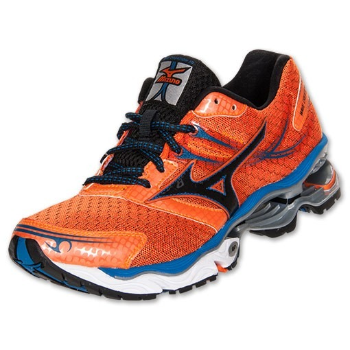 8e2e391be1a17 Tenis Mizuno Creation 14w Laranja E Preto Nº38 Original - R  199