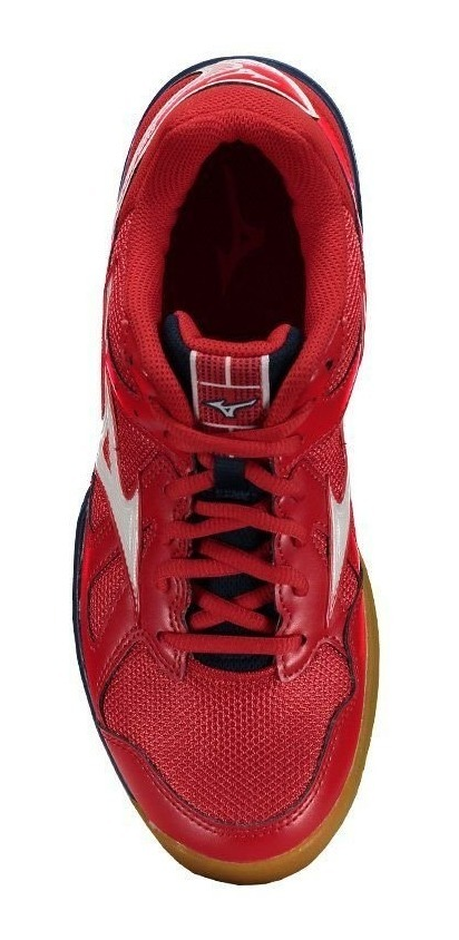 t�nis mizuno cyclone speed masculino - vermelho e marinho