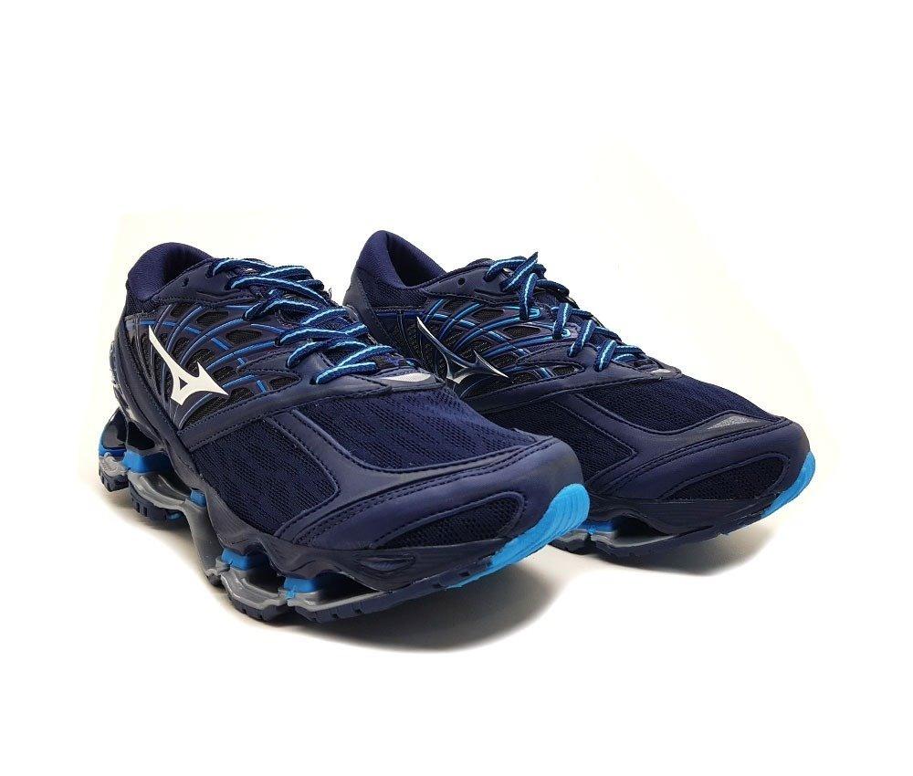 8983d90977 tenis mizuno wave prophecy 8 masculino pro 8 mizuno azul. Carregando zoom.
