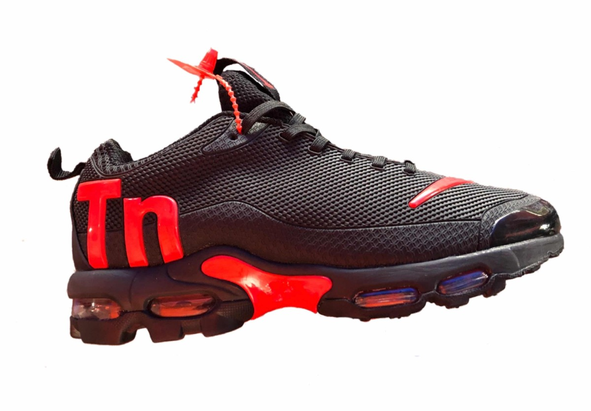 huge discount d304b 18c19 ... best price tenis modelo nike air max tn plus negro rojo. cargando zoom.  f2abd