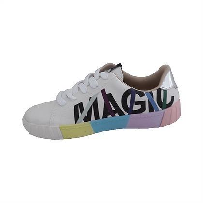 Tenis Moleca Love Colorido Magic Branco 5645.408 - R  199 1e95510396923