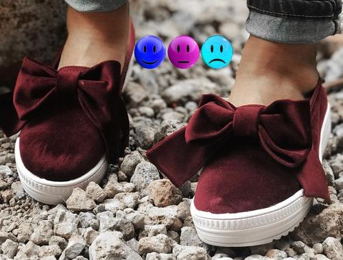 tenis moño zapato  super de moda y muy hermosos