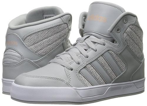 adidas de bota gris