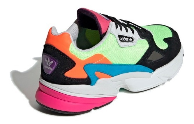 Tenis Mujer adidas Originals Falcon W - Multicolor