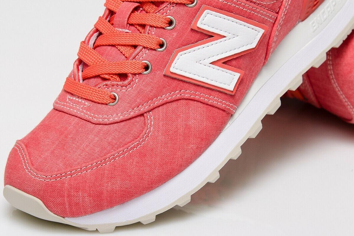 new balance 574 mujer coral