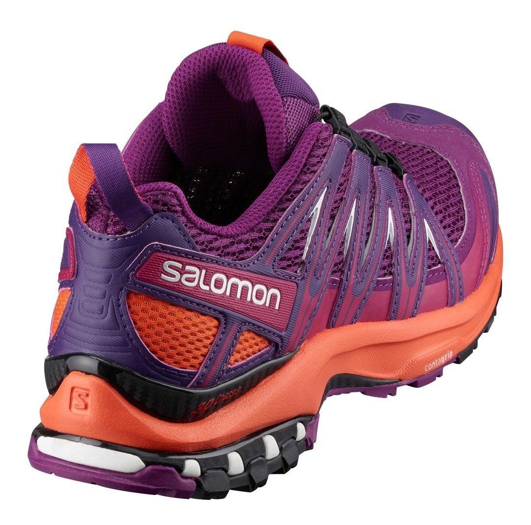 Tenis Mujer Salomon Off Trail Running Dama Xa Pro 3d Morado