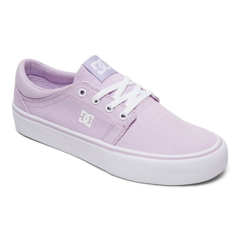 tenis mujer trase tx j skate dc shoes lila