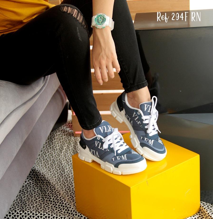 1607130a Tenis Mujer Zapatillas Deportivas Elegantes Envio Gratis New ...