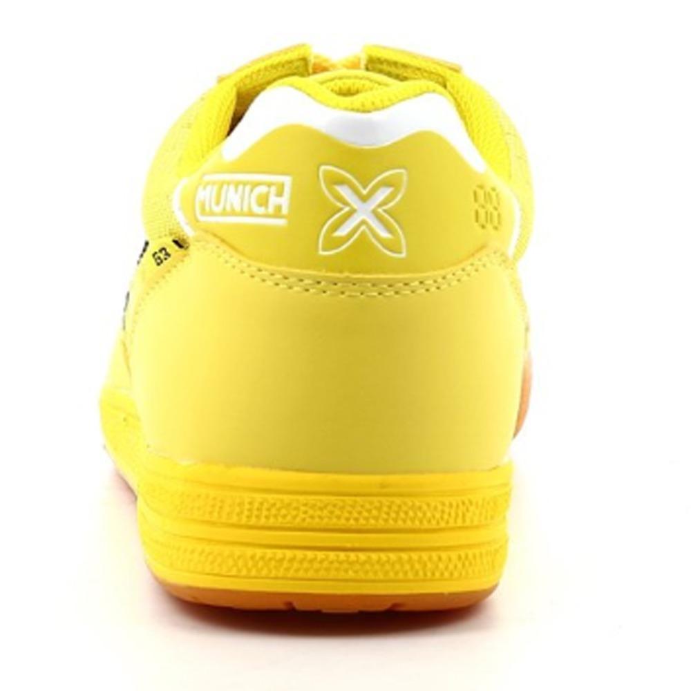 f4245d0ee9f62 tenis munich futsal g-3 shine 3110904 amarelo original. Carregando zoom.