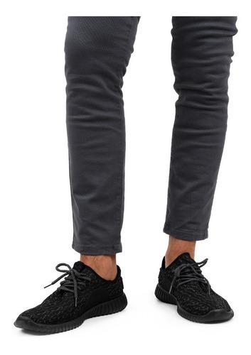 tenis negro de cordón - kedi designs