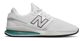 tenis new balance hombre blancos