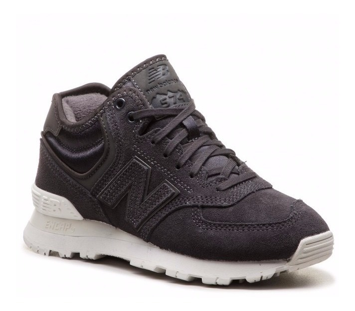 size 40 591d2 546e3 Tenis New Balance 574 Mid Suade Black