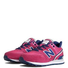 pretty nice 77d67 7b74e Tenis New Balance 574, Para Niña (rosa azul)