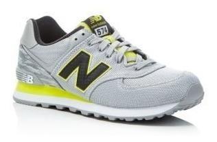 new balance gris y amarillo