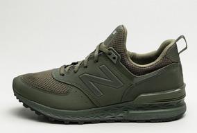 new balance hombre verde militar