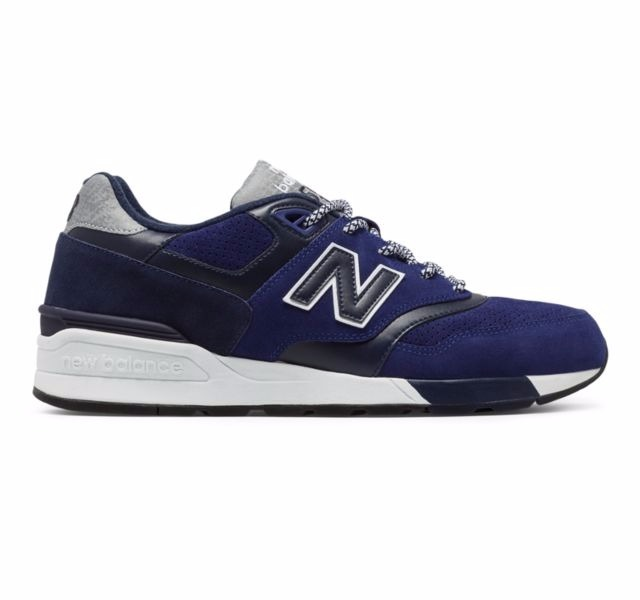 online retailer 17681 92fee Tenis New Balance 597 Blue/black Nasotafi2