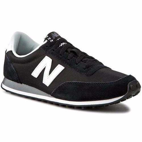 tenis new balance lyfestile sneakers  wl410vic  negro gris
