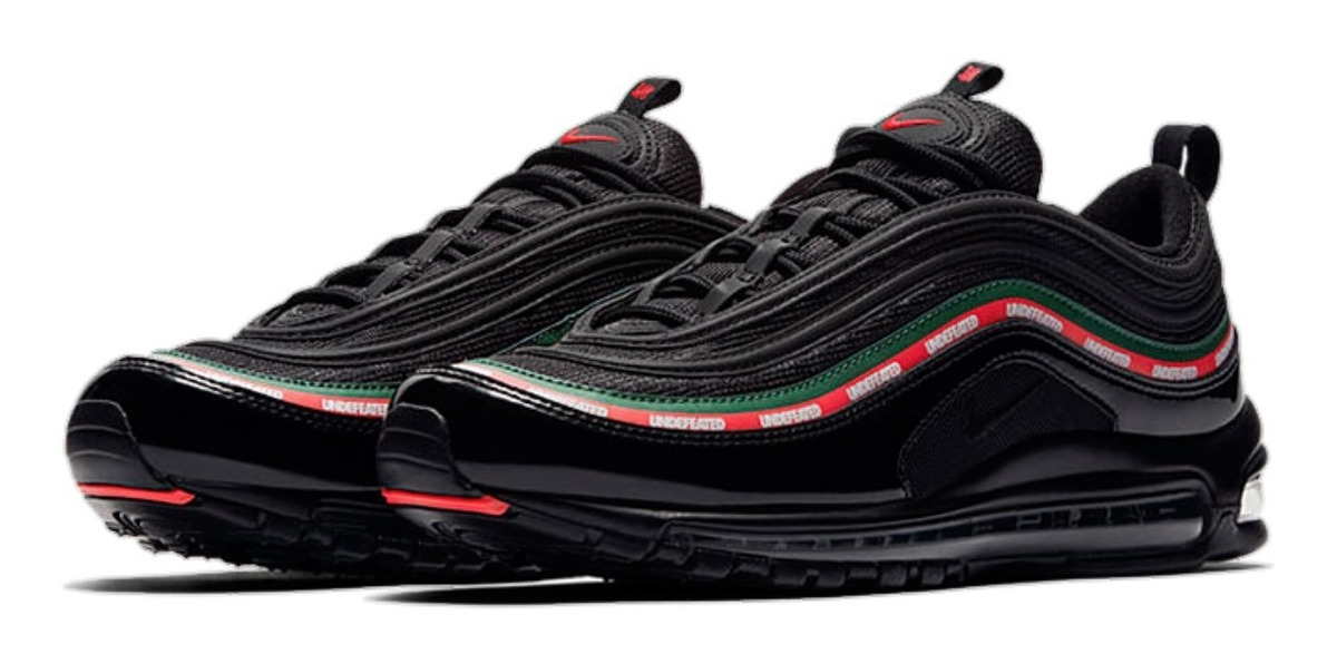 Tenis Nike 2000 Air Max 97 Og Negras Undefeated Hombre