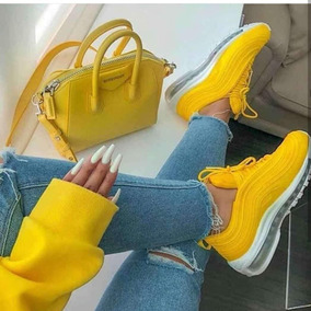 ba5060b9 Tenis Nike Amarillos Mujer - Tenis Nike para Mujer en Mercado Libre Colombia