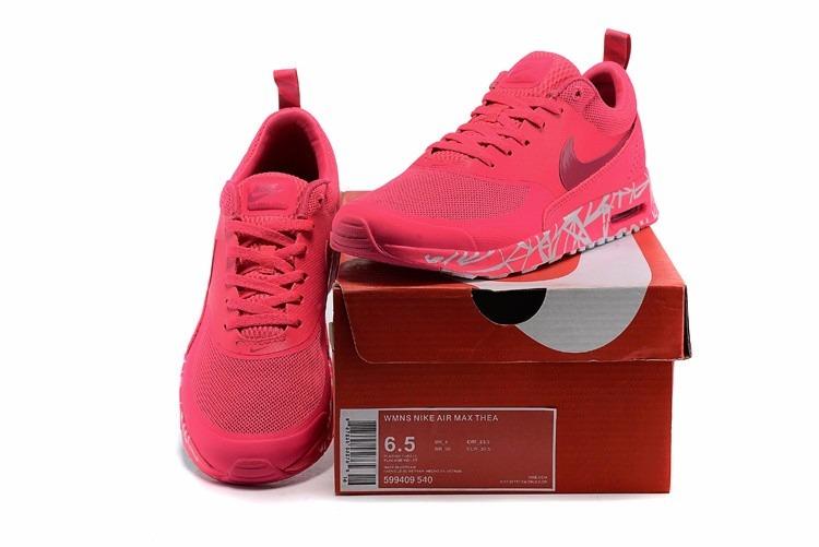 nike air max thea print pink