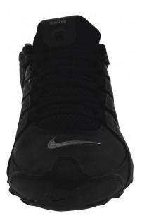 tenis nike 501524 024 black/reflect silver-anthrct shox nz e