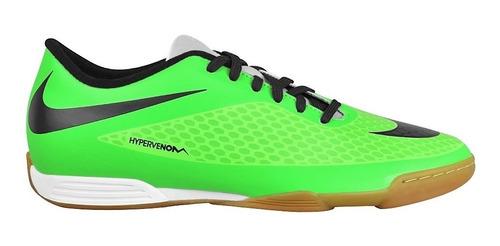 tenis nike 599810303 5-9 simipiel verde negro