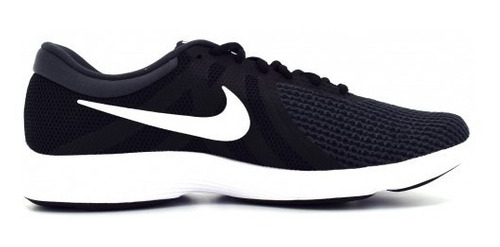 tenis nike 908988 001 black/white-anthracite revolution 4  2