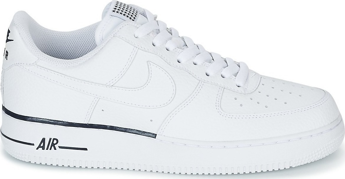 tenis nike aa4083-101 air force 1 07  branco preto exclusivo. Carregando  zoom. e43a5be37e096
