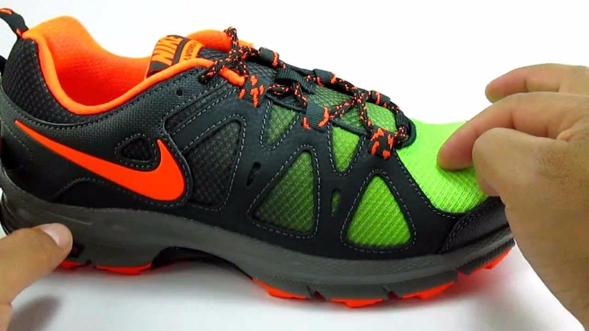 1b269dcfbdc tenis nike air alvord 10 trail nuevos en caja verde-naranja. Cargando zoom.