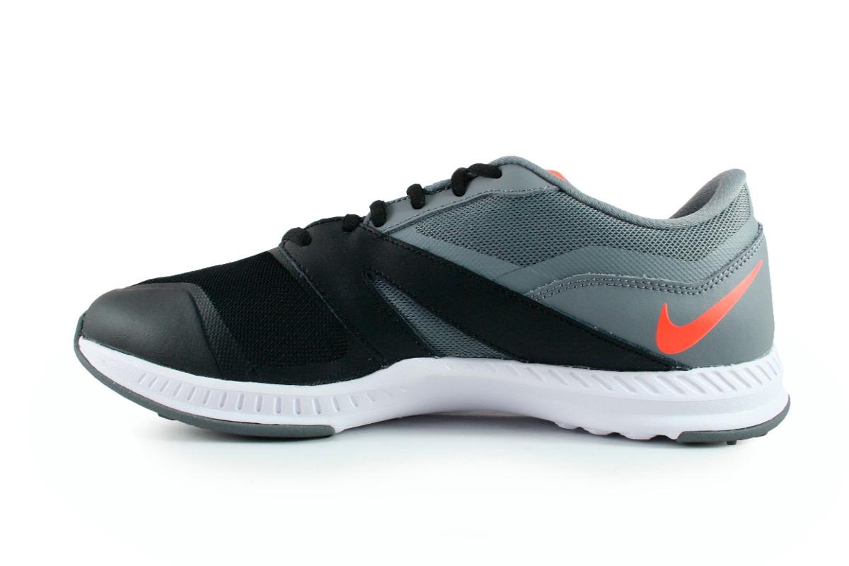 tennis nike gris con negro