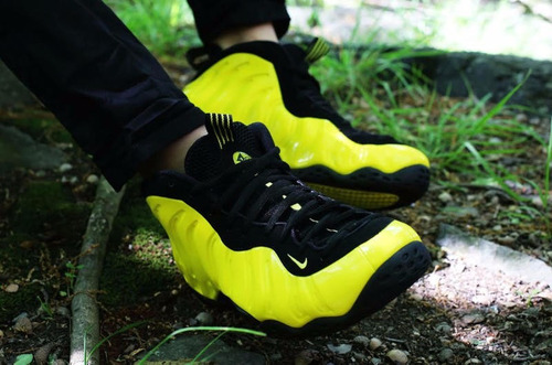 Nike Air Foamposite amarillo