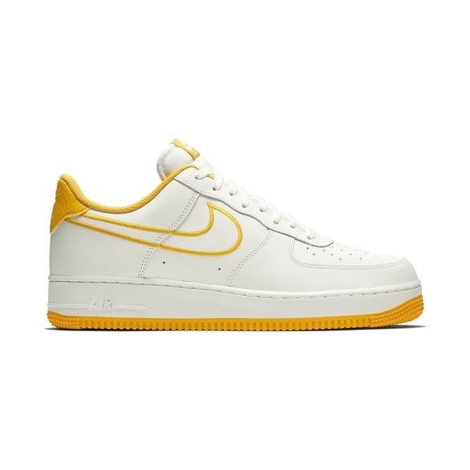 air force 1 hombre blancas amarillas