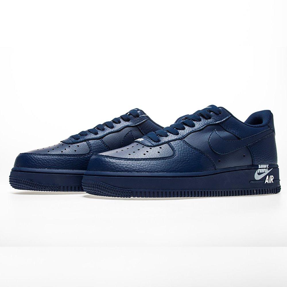 Tenis Nike Air Force 1 ´07 Lthr Azul #28.5 Cm. Envio Gratis