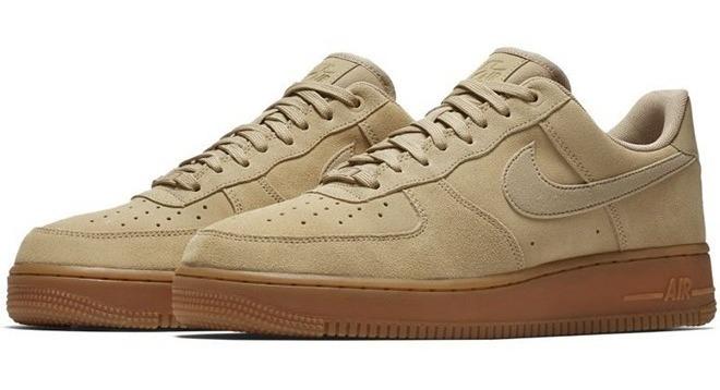 Zapatillas Moda Nike | AIR FORCE 1'07 LV8 SUEDE Beige Hombre