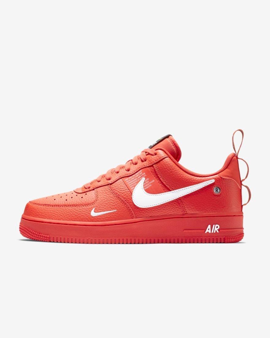 5016ff3ad0458 Tenis Nike Air Force 1 07 Lv8 Utility Rojo 2019 -   1
