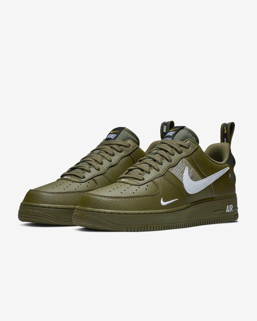 Tenis Nike Air Force 1 07 Lv8 Utility Verde 2019 -   1 76e3ebe65268b