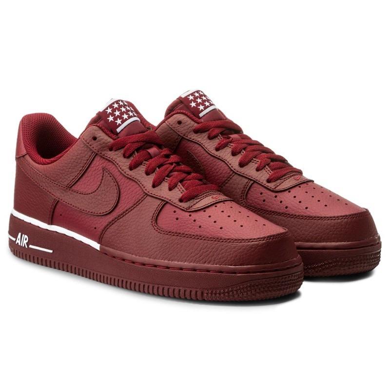 sale retailer 43179 695ab Tenis Nike Air Force 1  07 Rojo Originales Nuevos En Caja ...