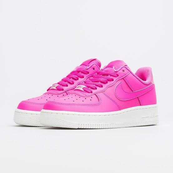 Tenis Nike Air Force 1 Af1 Rosas Mujer 26
