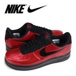 huge discount 557ba 5d1ac Tenis Nike Air Force 1 Foamposite Pro Cupsole Rojo #26 Al 27