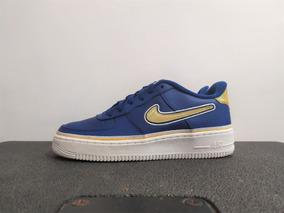 Tenis Nike Air Force 1 (gs) Talla #4.5mx, Pambo_tenis