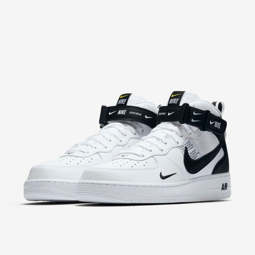 5bed234227f37 tenis nike air force 1 mid 07 lv8 utility blanco 2019. Cargando zoom.