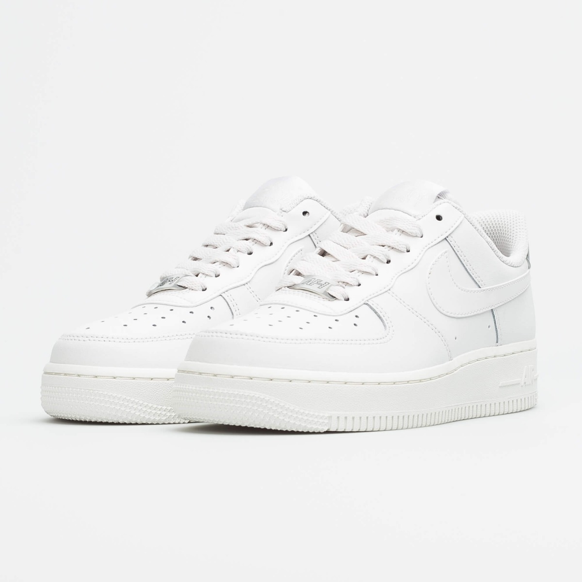 Tenis Nike Air Force 1 W Branco Gelo Casual Feminino
