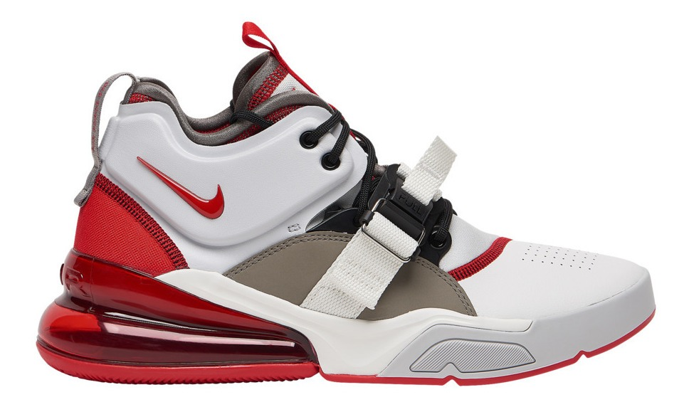 Tenis Nike Air Force 270 University Red Casual Hombre