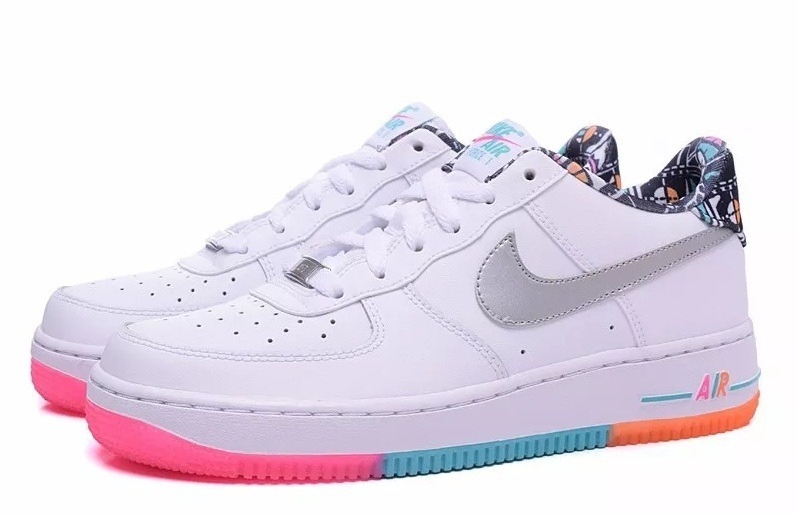 Colores Arcoiris Nike Air Force Mujer Tenis 50Descuento sCrxhQtBdo