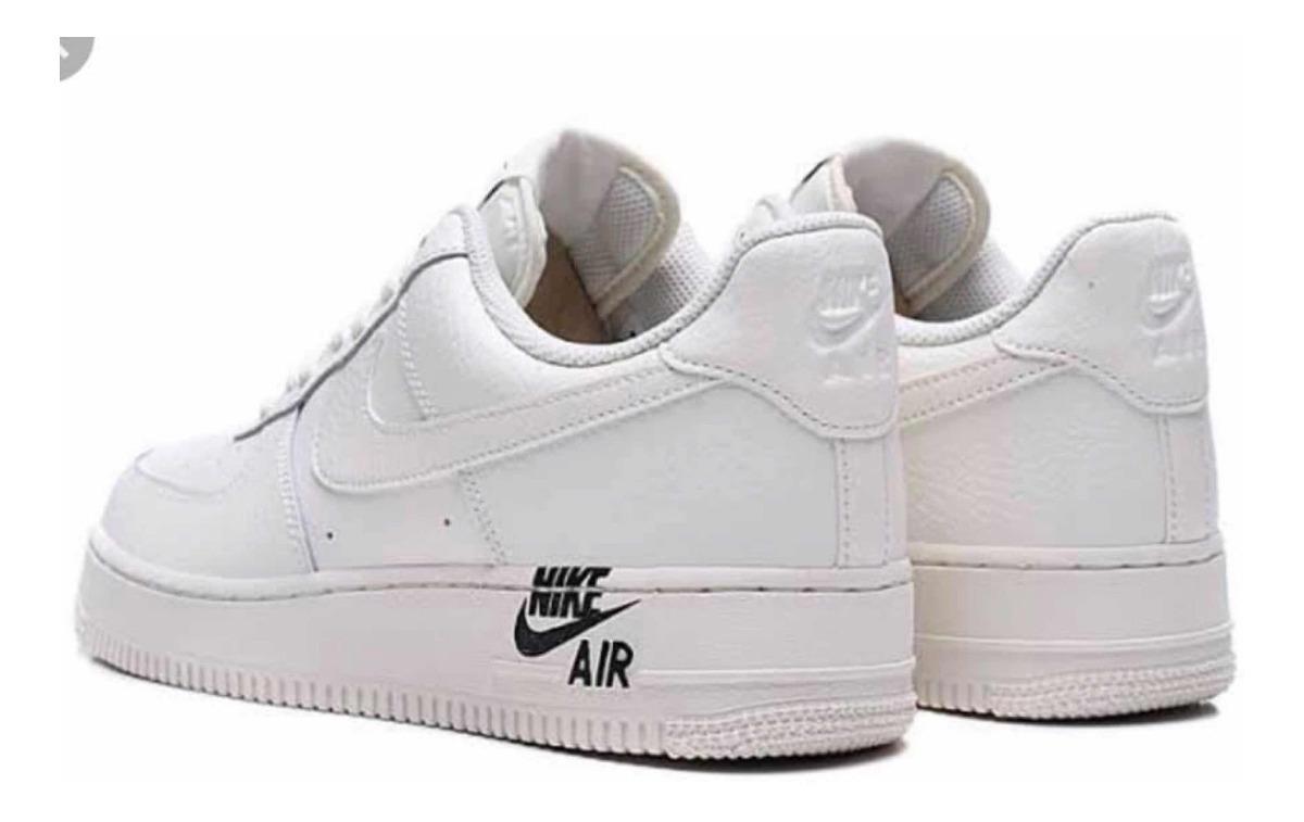 Vacuna29 Y Air Blanco Piel Nike Force One 1 Cm Tenis 30 PZOkuXi