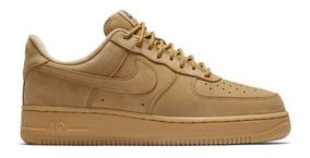 Zapatillas Nike Air Force Hombre Marrones Ropa y